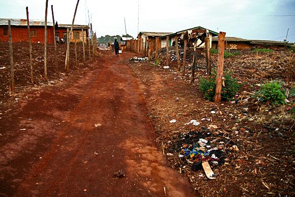 Nkambe, západní Kamerun