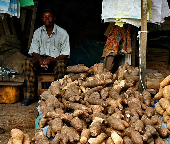 Prodavač yamů