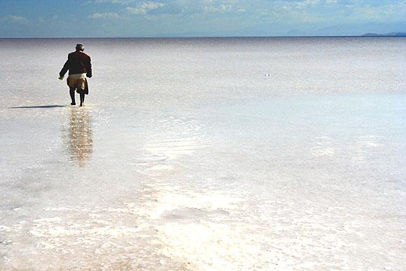 Solné jezero Orumiyeh