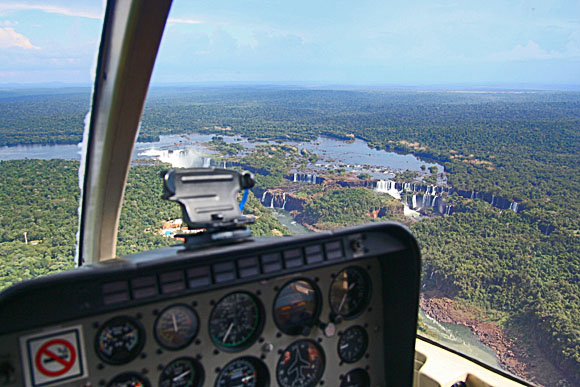 Iguazu from the air