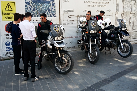 Istanbul moto police